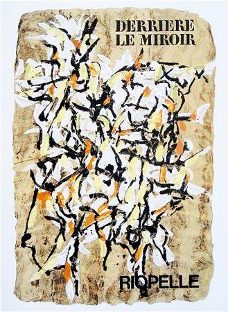 Livre Illustré Riopelle - Derrière le Miroir n° 160. RIOPELLE. 9 LITHOGRAPHIES ORIGINALES. juin 1966.