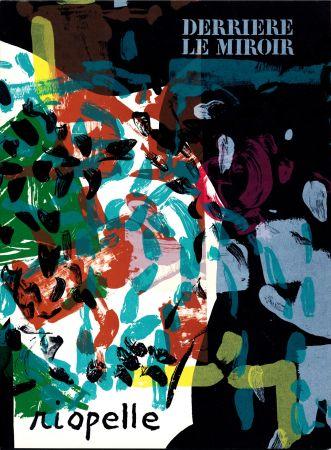 Livre Illustré Riopelle - Derrière le Miroir n° 171. RIOPELLE. 10 LITHOGRAPHIES ORIGINALES. Avril 1968.