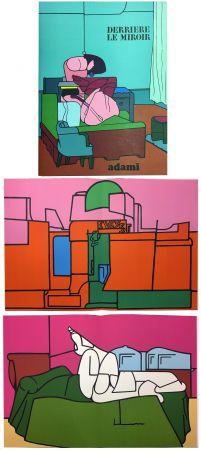 Livre Illustré Adami - Derrière le Miroir n° 188. ADAMI. Novembre 1970.