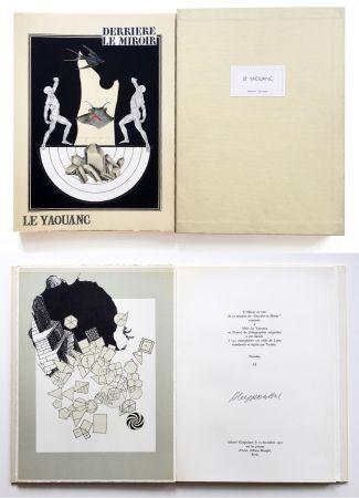 Livre Illustré Le Yaouanc - Derrière le miroir, n° 189. Le Yaouanc. 1970. TIRAGE DE LUXE SIGNÉ.