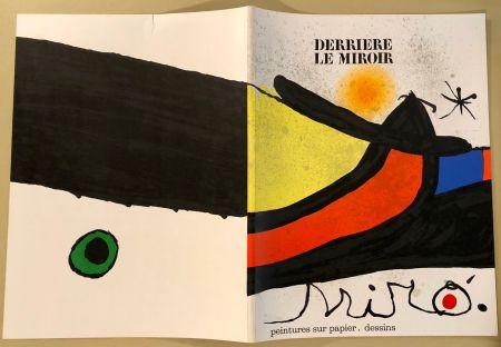 Livre Illustré Miró - Derrière Le Miroir  N° 193- 194 Novembre 1971- Maeght Editeur