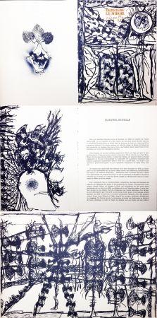 Livre Illustré Riopelle - Derrière le Miroir n° 232. 9 LITHOGRAPHIES ORIGINALES (1979).