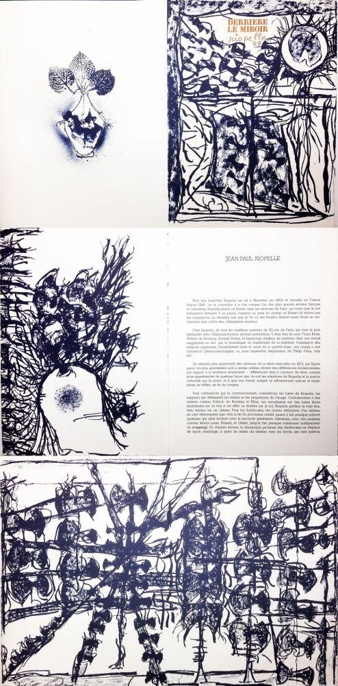 Livre Illustré Riopelle - Derrière le Miroir n° 232. RIOPELLE. Janvier 1979.