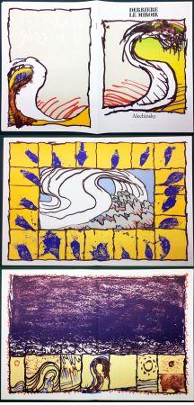 Livre Illustré Alechinsky - Derrière le Miroir n° 247. ALECHINSKY. 6 ESTAMPES ORIGINALES. 1981