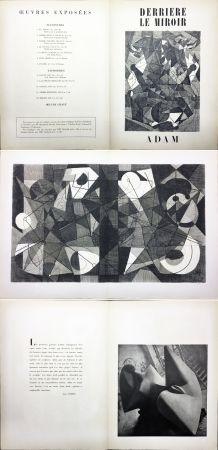 Livre Illustré Adam - Derrière le Miroir n° 24. ADAM - Décembre 1949. 1ere édition.