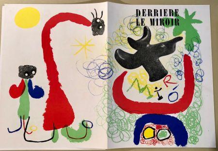 Livre Illustré Miró - Derrière le Miroir  n° 29-30, Mai 1950 - Maeght Editeur