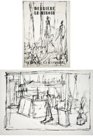 Livre Illustré Giacometti - Derrière le Miroir n° 39-40 . GIACOMETTI. Juin 1951.