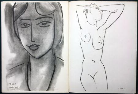 Livre Illustré Matisse - Derrière le Miroir n° 46-47. MATISSE. Mai 1952. 1ère Édition.