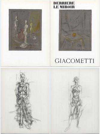 Livre Illustré Giacometti - Derrière le Miroir n° 65 . GIACOMETTI . Mai 1954.