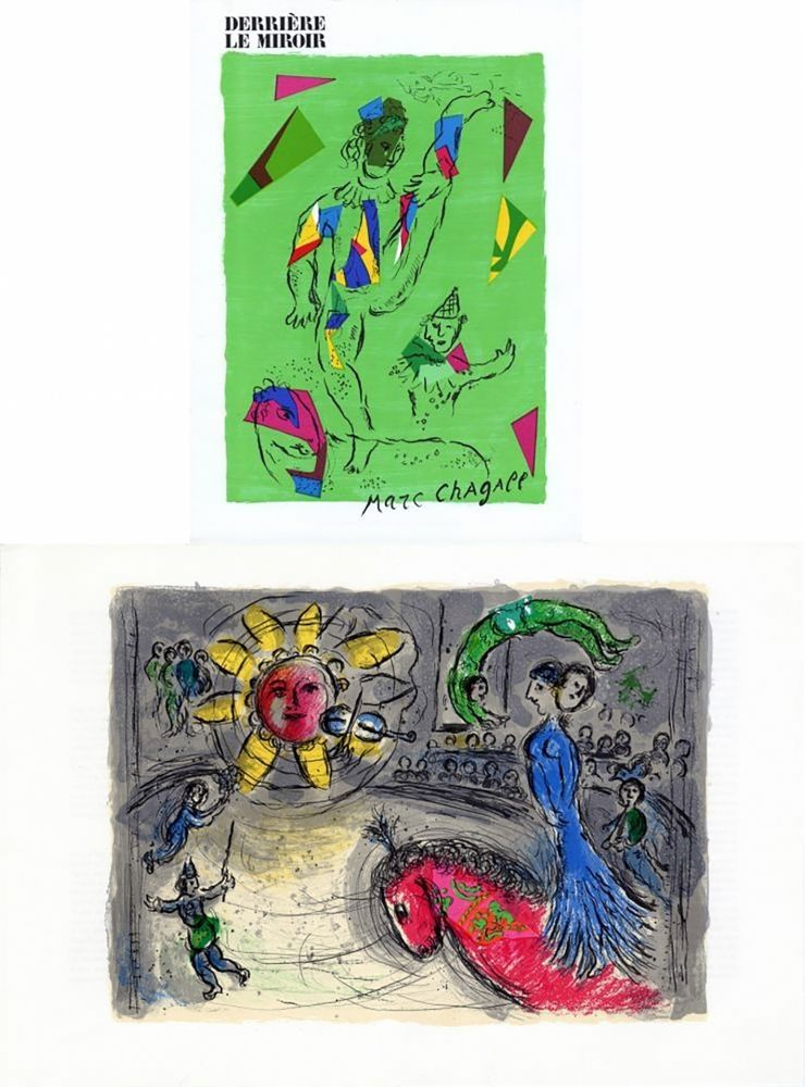Lithographie Chagall - Derriere le Miroir 235, edition de Luxe, numbered