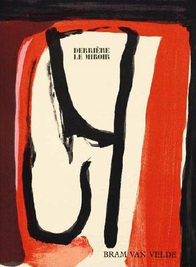 Livre Illustré Van Velde -  Derriere Le Miroir N°240