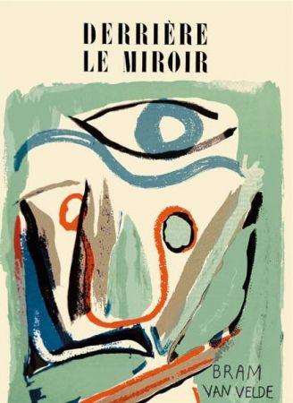 Livre Illustré Van Velde - Derriere Le Miroir N°43
