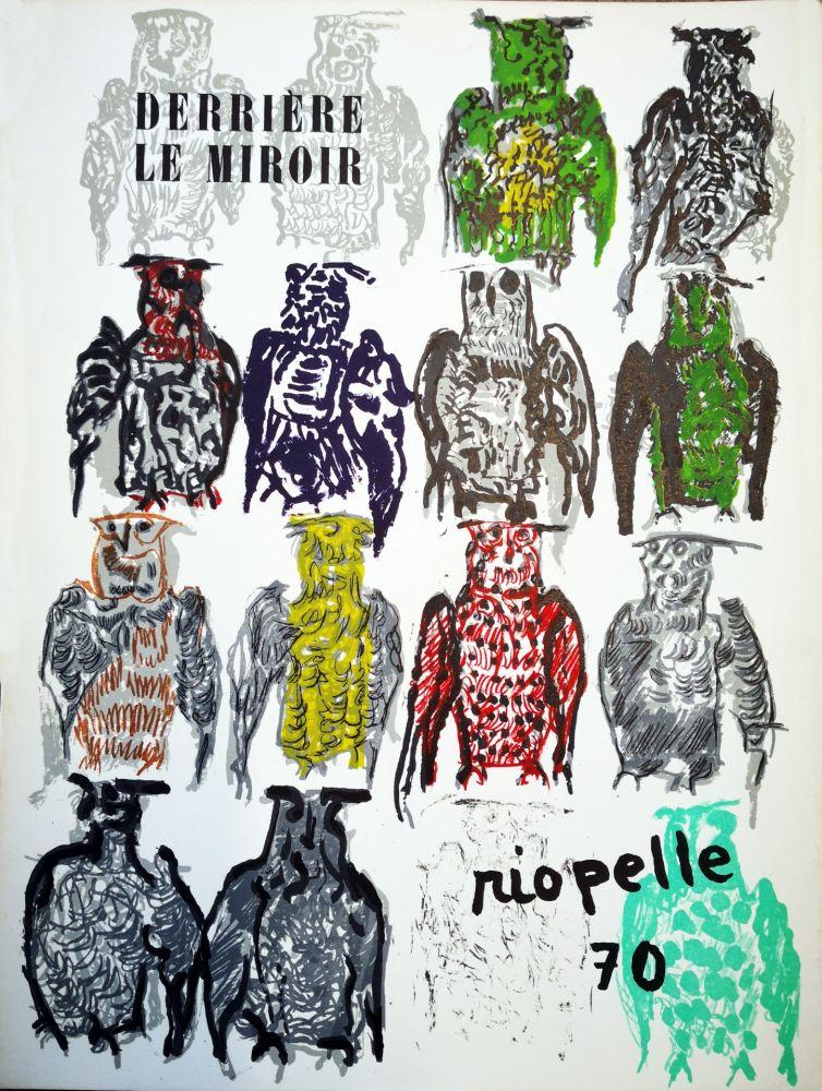 Livre Illustré Riopelle - Derriere le Miroir n. 185