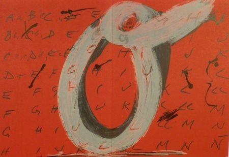 Livre Illustré Tàpies - Derriere le Miroir n. 200. Objets et grands formats.