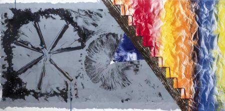 Lithographie Rosenquist - Derriere L'Etoile