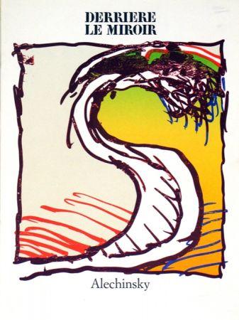 Lithographie Alechinsky - Derrierre le Miroir
