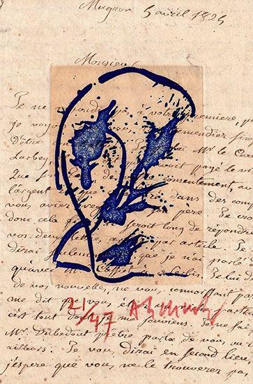 Gravure Alechinsky - Des deux mains