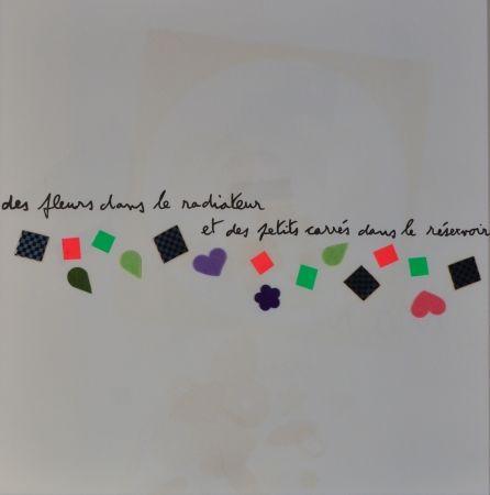 Lithographie Baj - Des Fluers Dans Le Radiateur