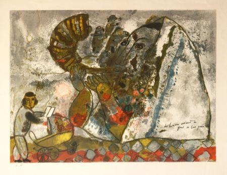 Lithographie Tobiasse -