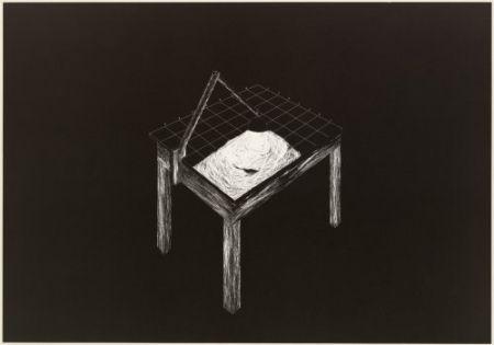 Lithographie Komatsu - Desapropriaçâo 1