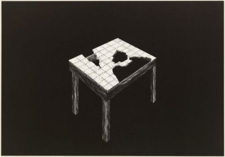 Lithographie Komatsu - Desapropriaçâo 2