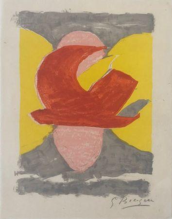 Lithographie Braque - Descente aux enfers