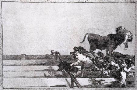 Eau-Forte Goya - Desgracias