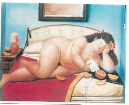 Offset Botero - Desnudo