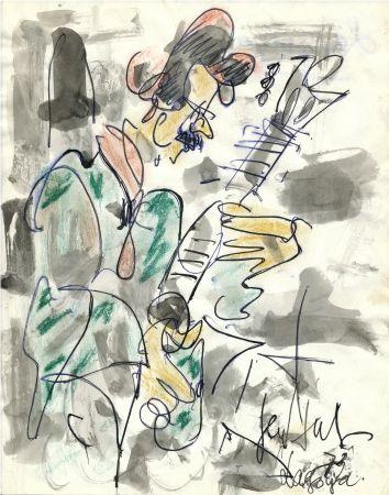 Aucune Technique Paul  - Dessin Original / Original Drawing - ALEXANDRE LAGOYA - Portrait