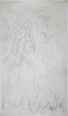 Aucune Technique Paul  - Dessin Original / Original Drawing - DANIEL SORANO - Portrait