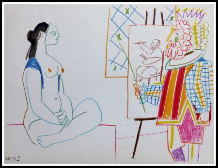 Lithographie Picasso - DESSINS DE VALLAURIS
