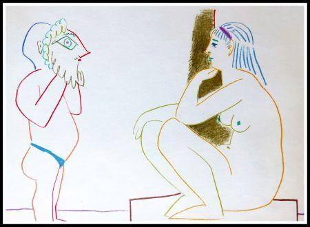 Lithographie Picasso - DESSINS DE VALLAURIS III