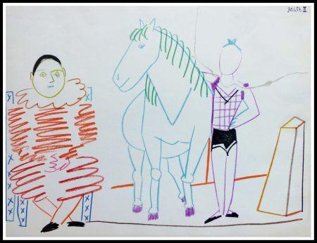 Lithographie Picasso - DESSINS DE VALLAURIS IV