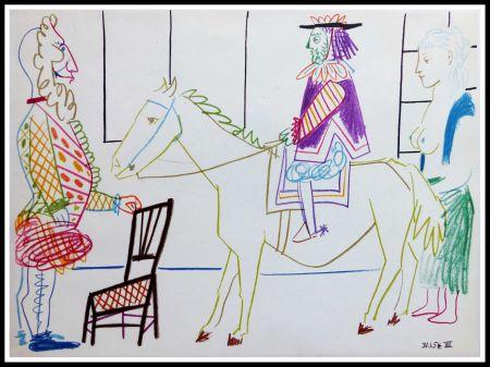Lithographie Picasso - DESSINS DE VALLAURIS V