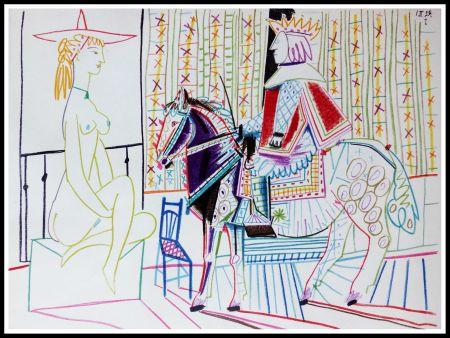 Lithographie Picasso (After) - DESSINS DE VALLAURIS VI