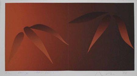 Sérigraphie Inoue - Deux bambous