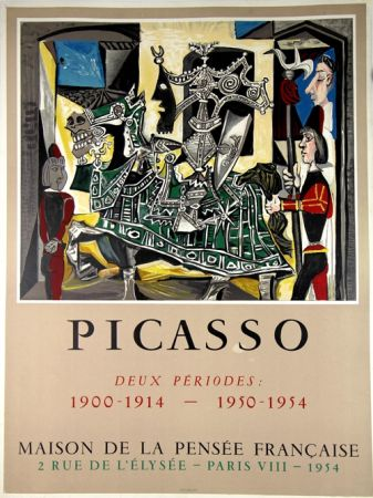 Lithographie Picasso - Deux Periodes 1900-1914 , 1950-1954
