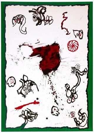 Lithographie Alechinsky - Deuxième
