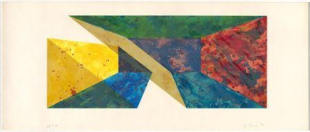 Sérigraphie Davis - Diagonal Slice