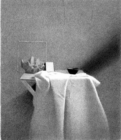 Lithographie Ferroni - Diagonale D'ombra I