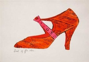 Lithographie Warhol - Dial M for Shoes