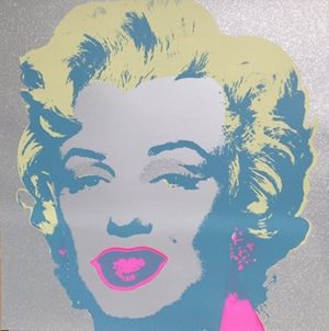 Sérigraphie Warhol (After) - Diamond Marilyn (by Sunday B. Morning)