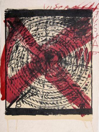 Lithographie Tàpies - Diana