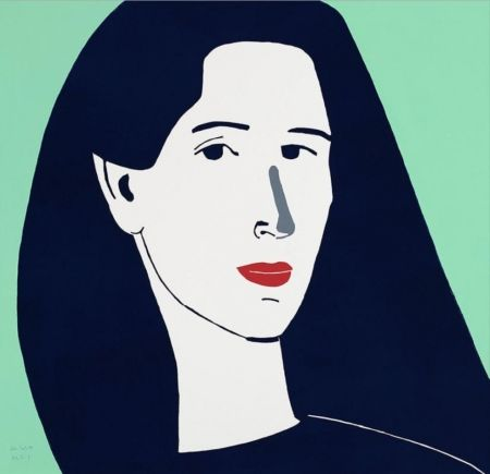 Linogravure Katz - Diana