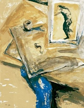 Lithographie Muñoz - Dibuixos antics II