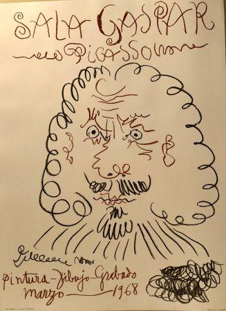 Affiche Picasso -  Dibujos de Picasso - Sala Gaspar Mars 1968