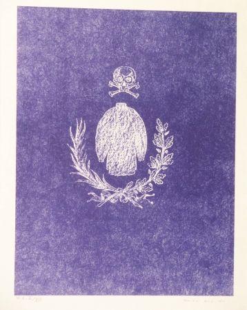 Lithographie Ernst - Die ballade von Soldaten