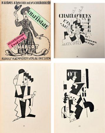 Livre Illustré Leger - DIE CHAPLINIADE (Filmdictung von Iwan Goll) 1920..
