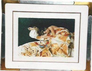 Sérigraphie Hundertwasser - Die funfte Augenwaage