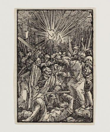 Gravure Sur Bois Altdorfer - Die Gefangennahme Christi (The Betrayal)